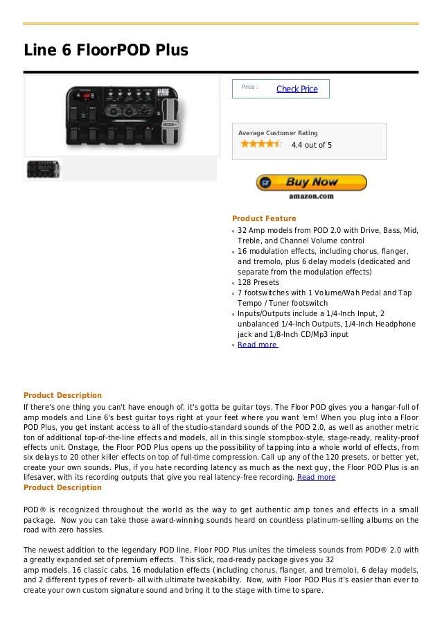 Line 6 FloorPOD Plus                                                                  Price :                             ...