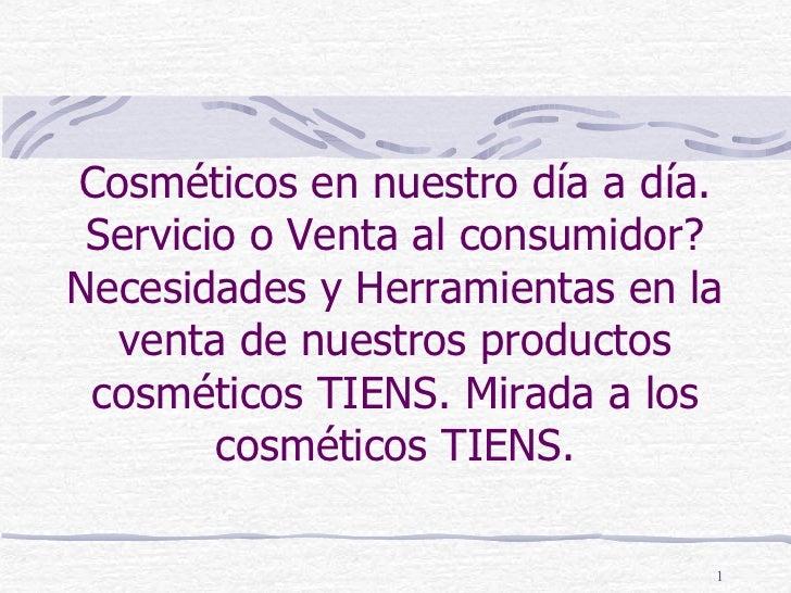 Linea de Cosmeticos