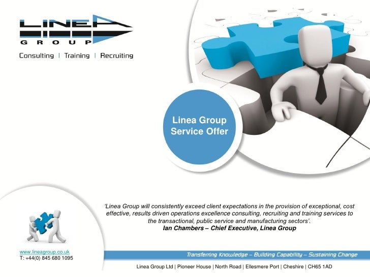 Linea Group                                                      Service Offer                         'Linea Group will c...