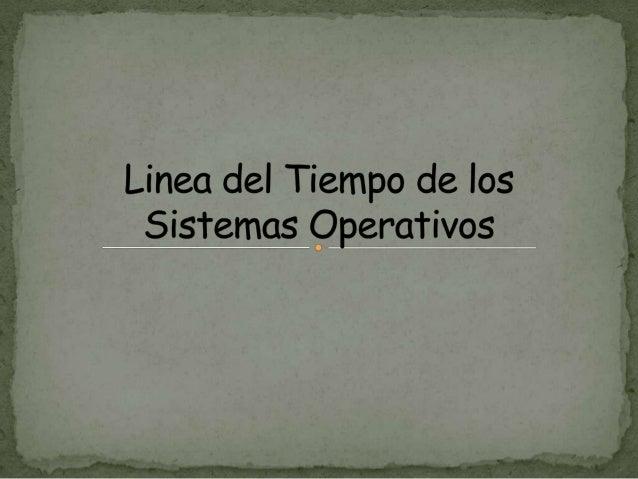 Significa CompatibleTime-SharingSystem (Sistema deTiempo CompartidoCompatible), fue unode losprimeros sistemasoperativos d...