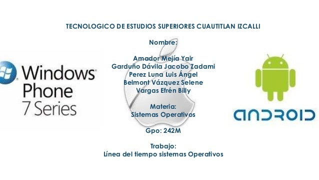    TECNOLOGICO DE ESTUDIOS SUPERIORES CUAUTITLAN IZCALLI                           Nombre:                      Amador Me...