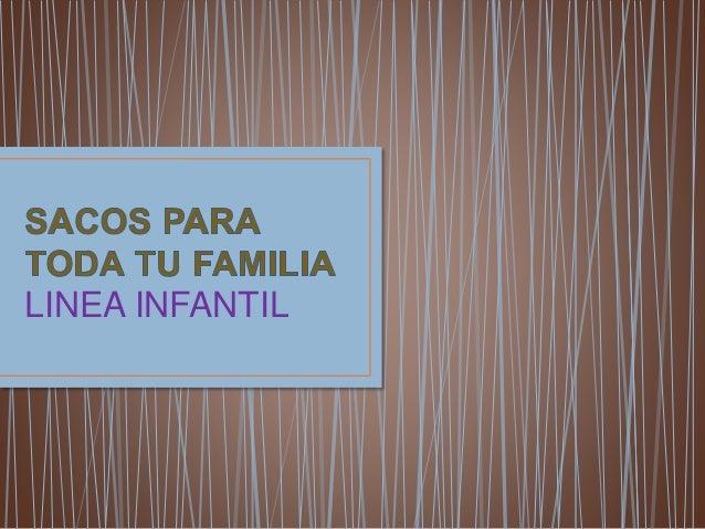 LINEA INFANTIL