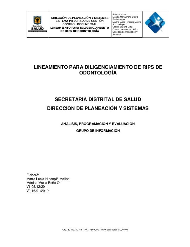 Lineamiento codificación rips_salud_oral