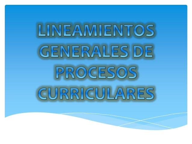 Lineamientos generales-de-procesos-curriculares