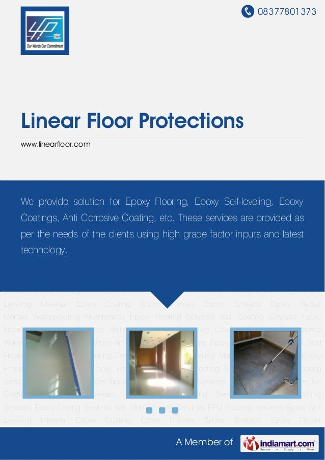08377801373A Member ofLinear Floor Protectionswww.linearfloor.comEpoxy Self Leveling Material Epoxy Coating Epoxy Primers ...