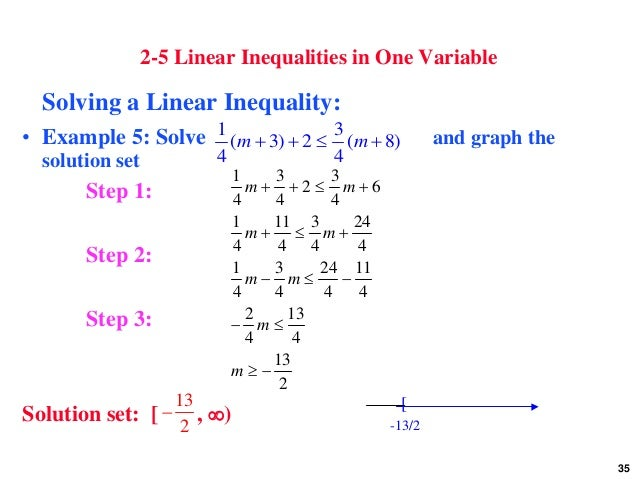 essay on linear equations