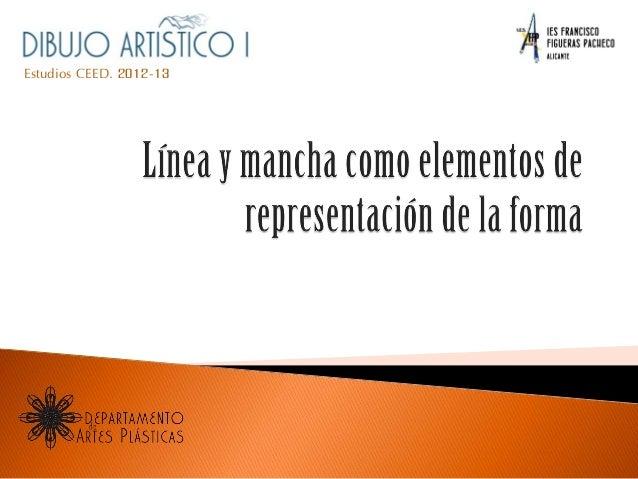 Estudios CEED. 2012-13