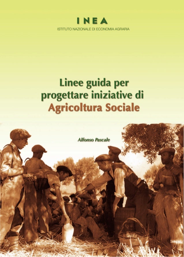 Linee guida per iniziative di agricoltura sociale