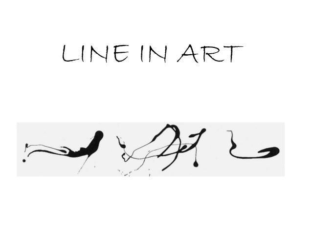 Line in the artworks