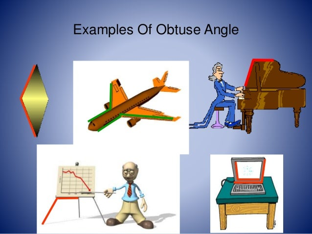 Obtuse Angle In Real Life : Lines and angles