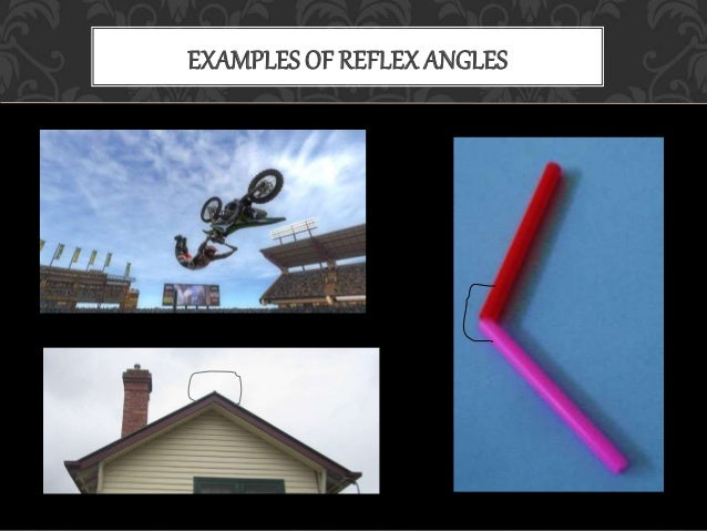 Example of intersecting lines in real life