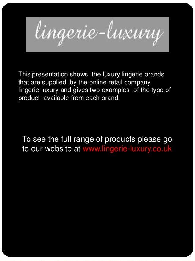 lingerie-luxuryslideshare