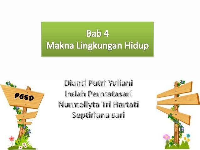 """Lingkungan, di Indonesia sering juga disebut""""lingkungan hidup"""". Dalam Undang-Undang no.23 tahun 1997 tentang Pengelolaan L..."""