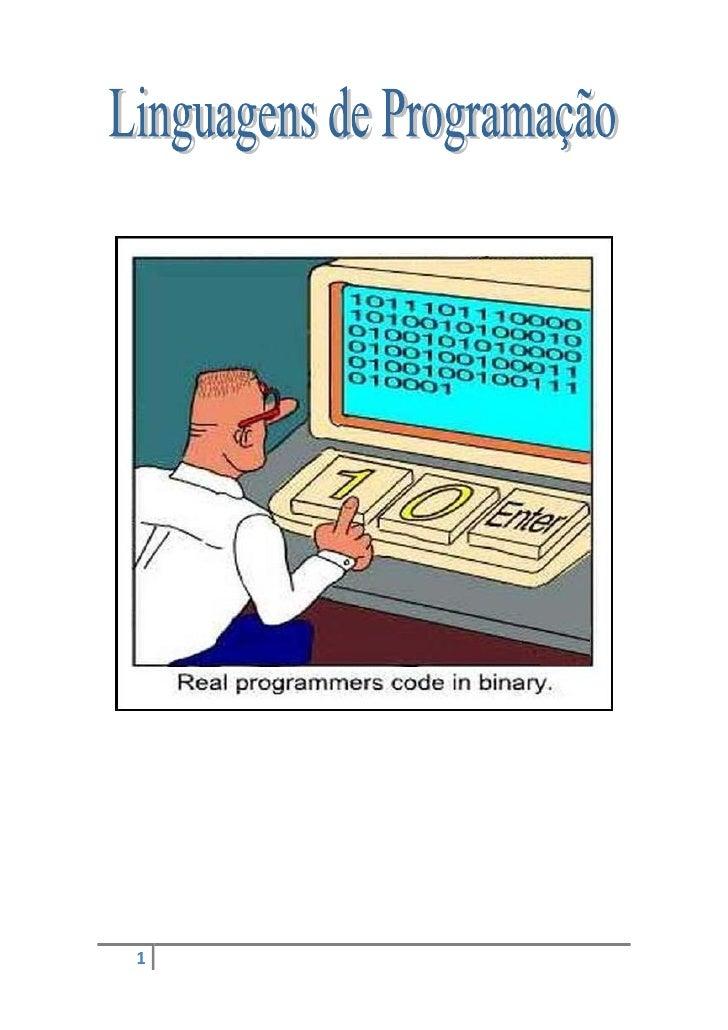 Linguagens de programação   03-12-09