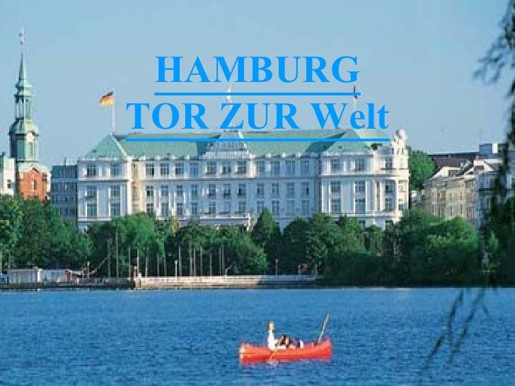 HAMBURG TOR ZUR Welt