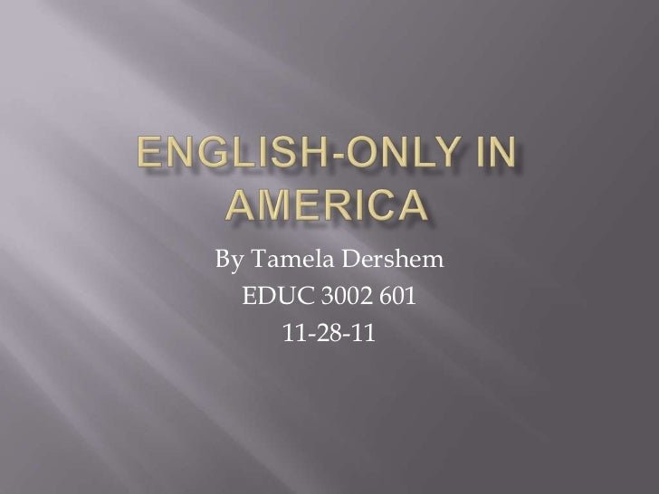 By Tamela Dershem  EDUC 3002 601     11-28-11