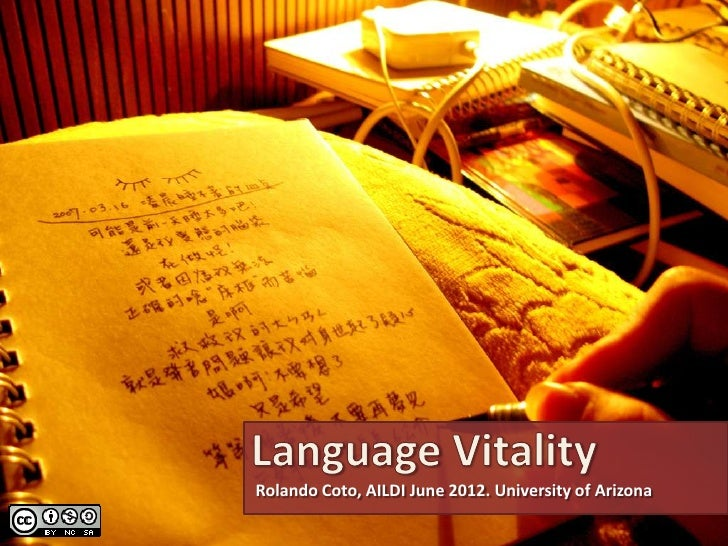 Rolando Coto, AILDI June 2012. University of Arizona