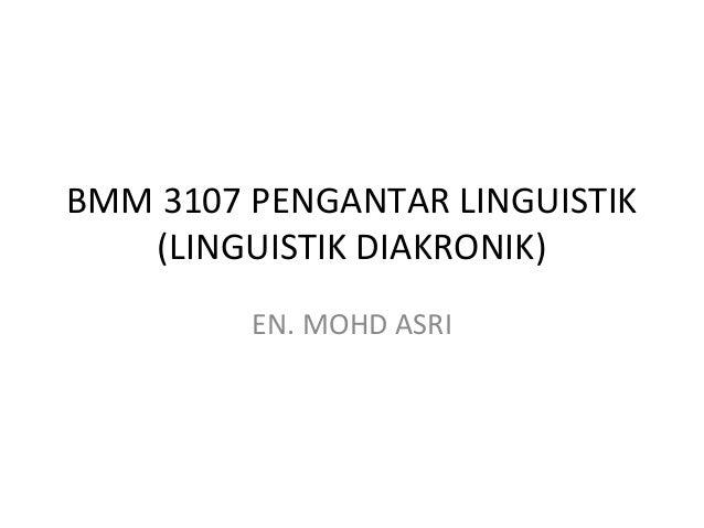 Linguistik diakronik husna