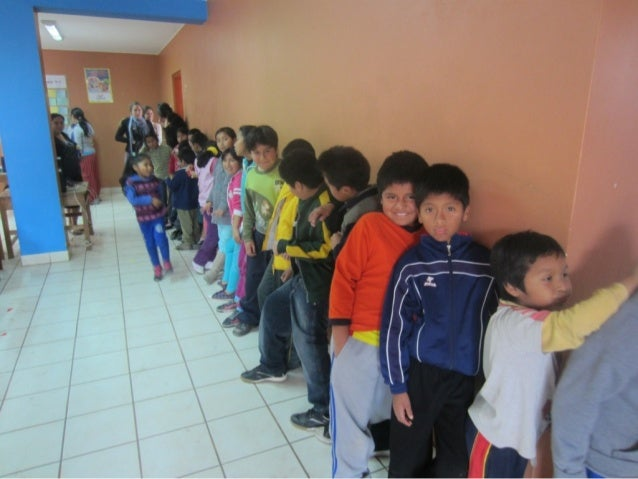 Lining up for lunch, l as palmas community centre