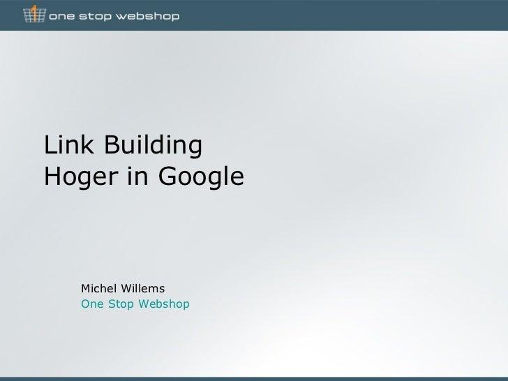 Link Building voor webwinkeliers