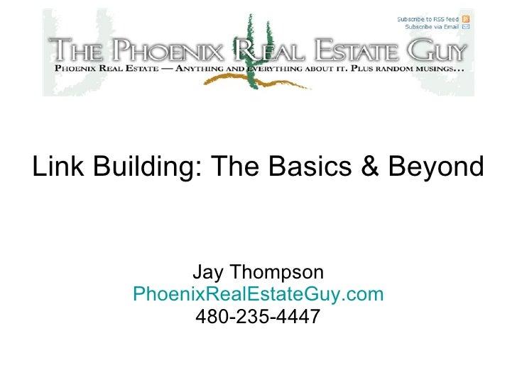 Link Building: Basics And Beyond