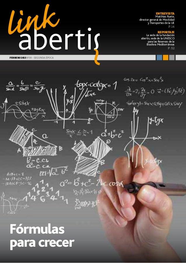 Revista Link Abertis Nº 9 Febrero 2014