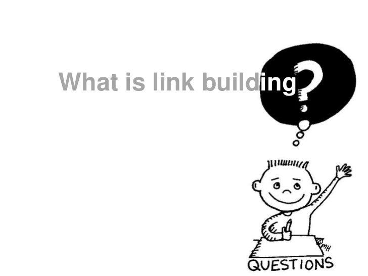 Link building presentation