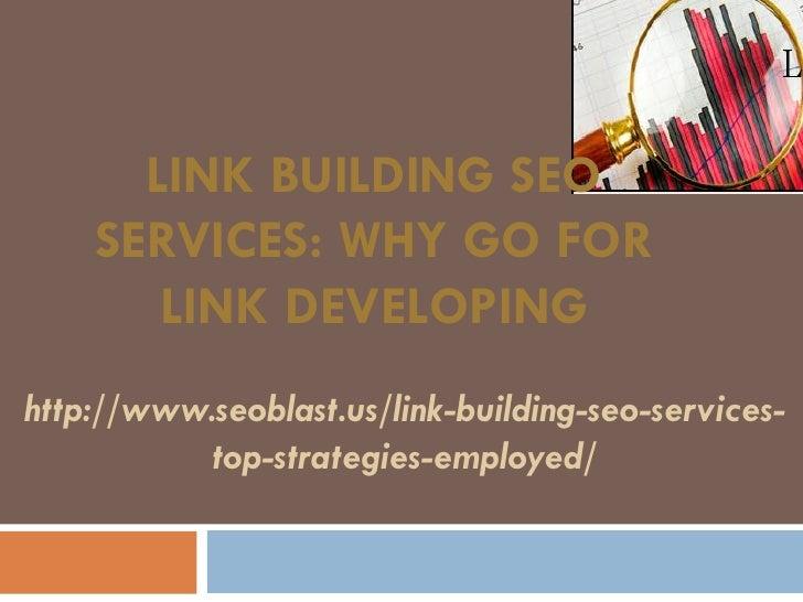 Link building seo services ppt
