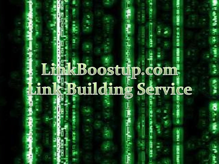 Link building service by linkboostup.com
