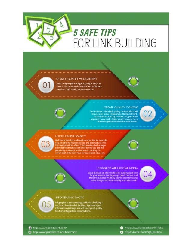 Safe Link Building Tips
