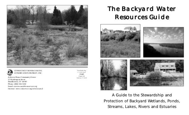 The Backyard Water Resources Guide - Connecticut