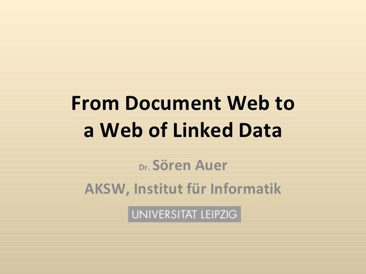 Linked Data Tutorial