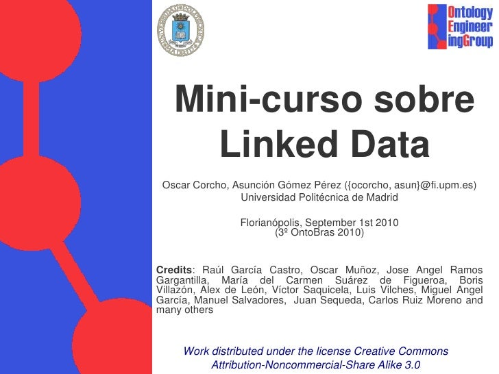 Linked Data Tutorial (Florianópolis)