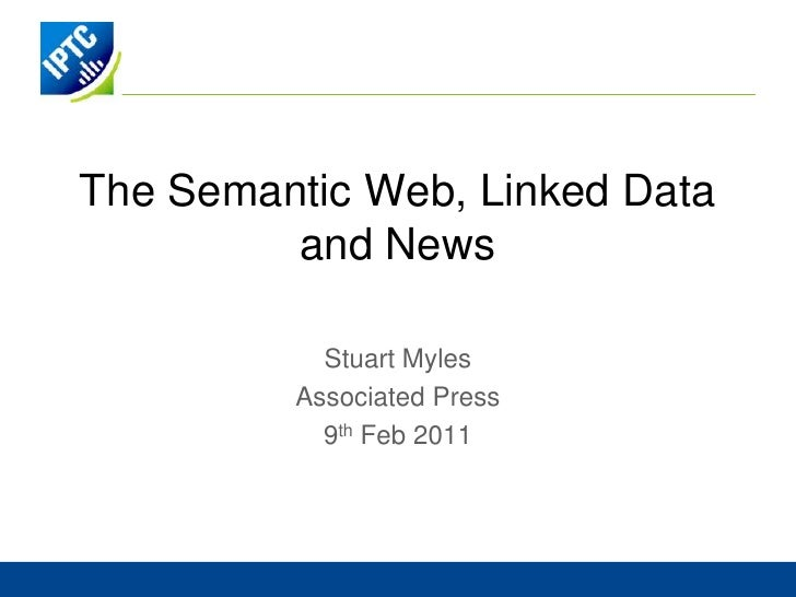 AP and the Semantic Web<br />Amy Sweigert<br />Director of Information Management<br />August 23, 2010<br />