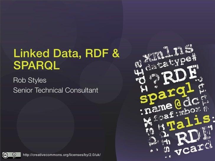 Linked Data, Rdf & Sparql