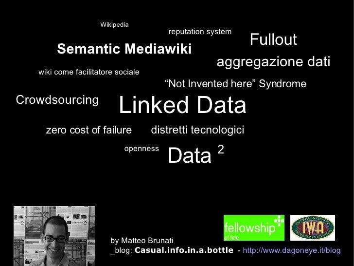 "<ul><ul><li>Semantic Mediawiki </li></ul></ul>Fullout Linked Data Crowdsourcing Wikipedia "" Not Invented here"" Syndrome op..."