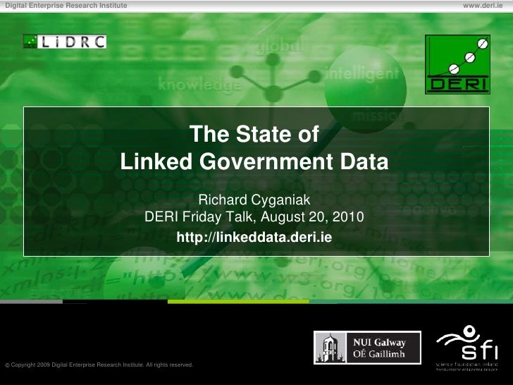 The State of Linked Government Data