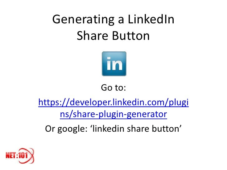 How to Create LinkedIn Share Buttons for Your Website Pages