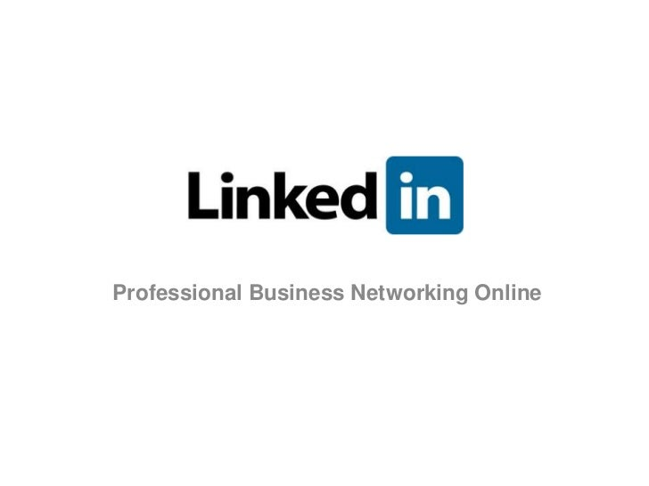 LinkedIn: Professional Business Networking Online