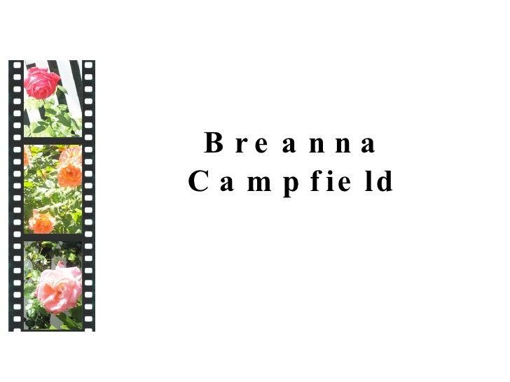 Breanna Campfield\'s Portfolio