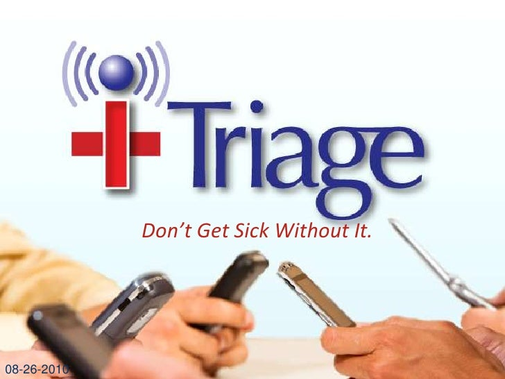 What Is iTriage?