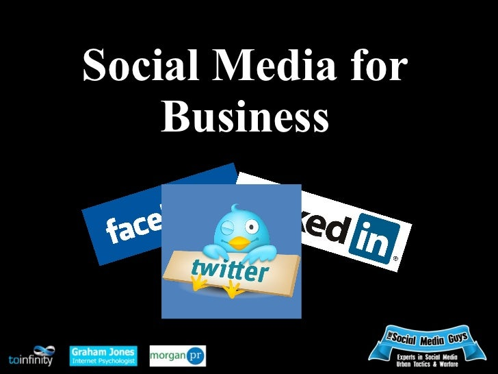 Social Media for    Business
