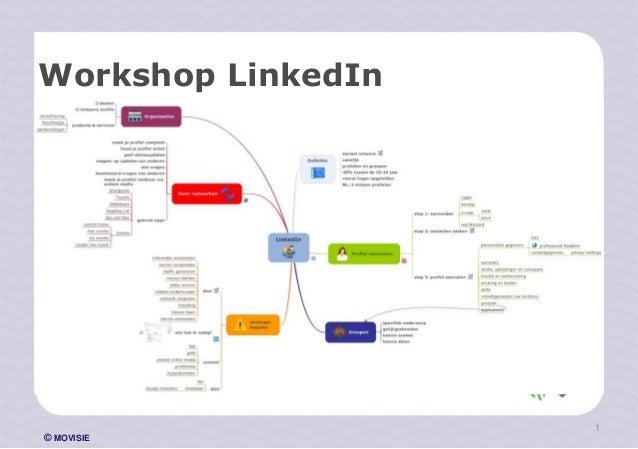 © MOVISIE Workshop LinkedIn 1