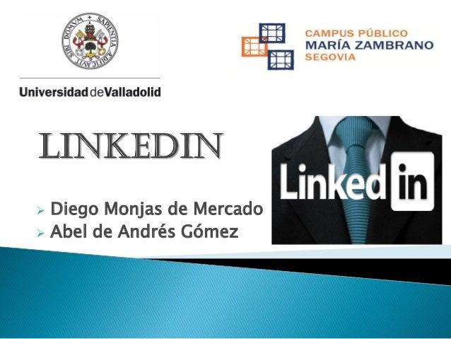    Diego Monjas de Mercado Abel de Andrés Gómez