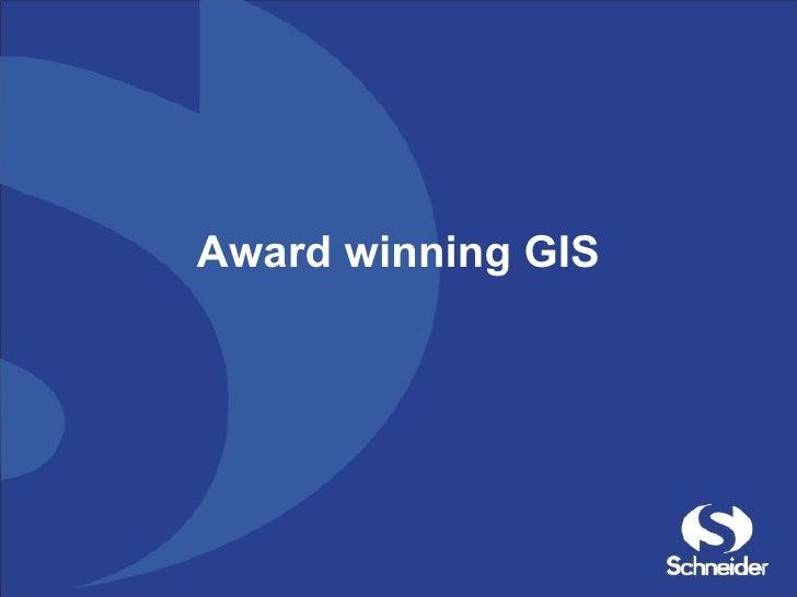 Award winning GIS