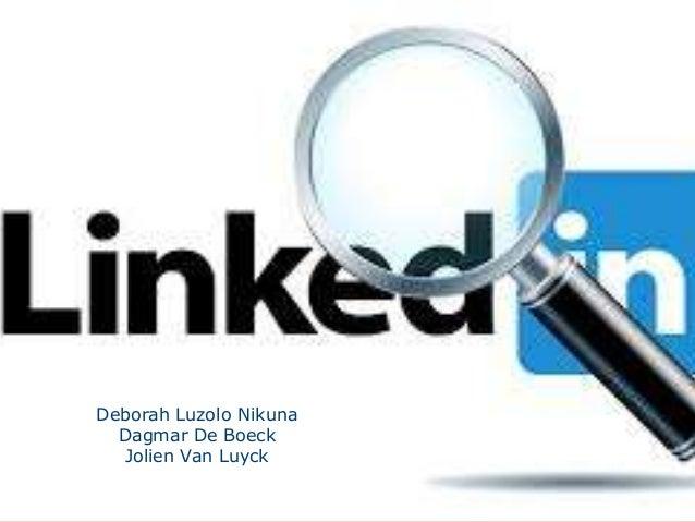 Deborah Luzolo Nikuna Dagmar De Boeck Jolien Van Luyck