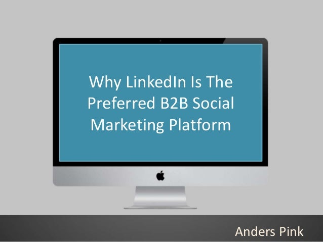 • a faberNovel study. Half of the site's members Why LinkedIn Is The are business decision makers, while 69 percent make m...