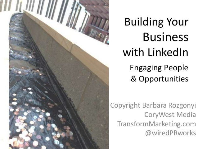 LinkedIn Business Building Tips for Meeting and Event Planners by Barbara Rozgonyi