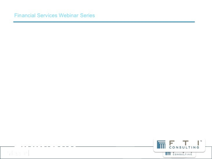 Financial Services Webinar SeriesFinancial Advisors and Social MediaUnderstanding the Opportunities and Challenges        ...