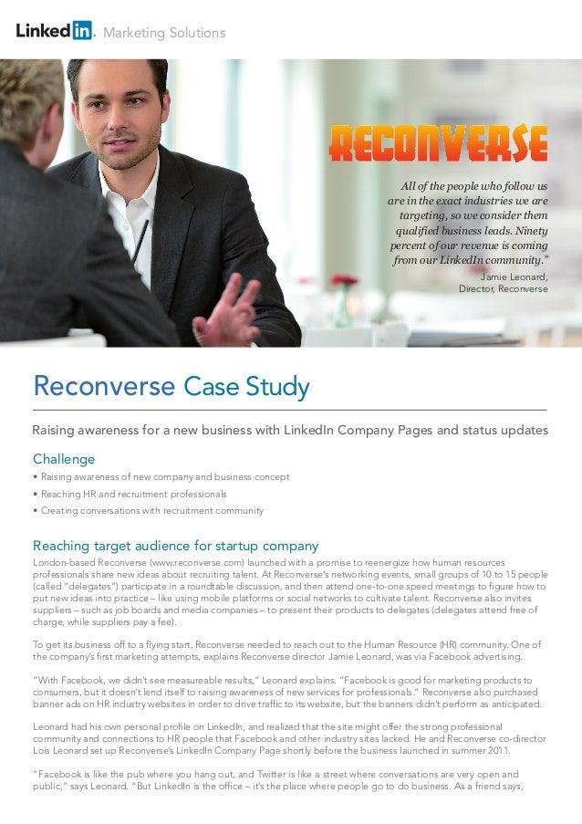 LinkedIn Reconverse-case-study